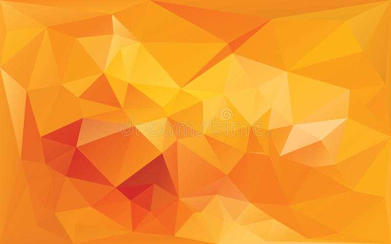 Abstract background in yellow-orange colors. Abstract background in yellow orange colors vector illustration