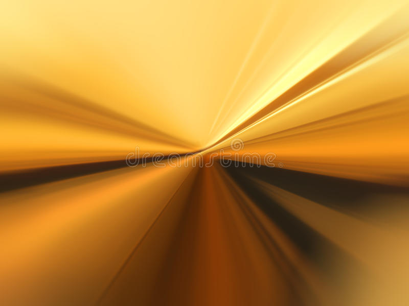 Abstract background in yellow and orange tones. Abstract blurry background in yellow and orange tones representing speed and movement