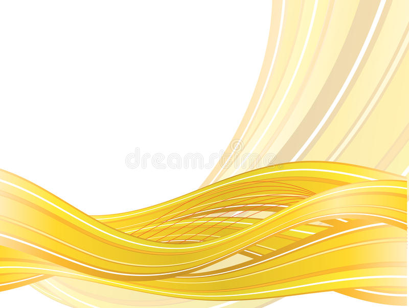 Download Abstract  Background With Yellow Waves Stock Vector - Image: 23468395