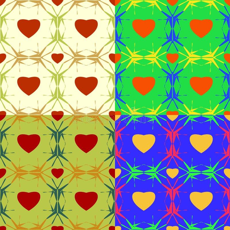 Abstract Symbolic Natural Patterns Stock Vector