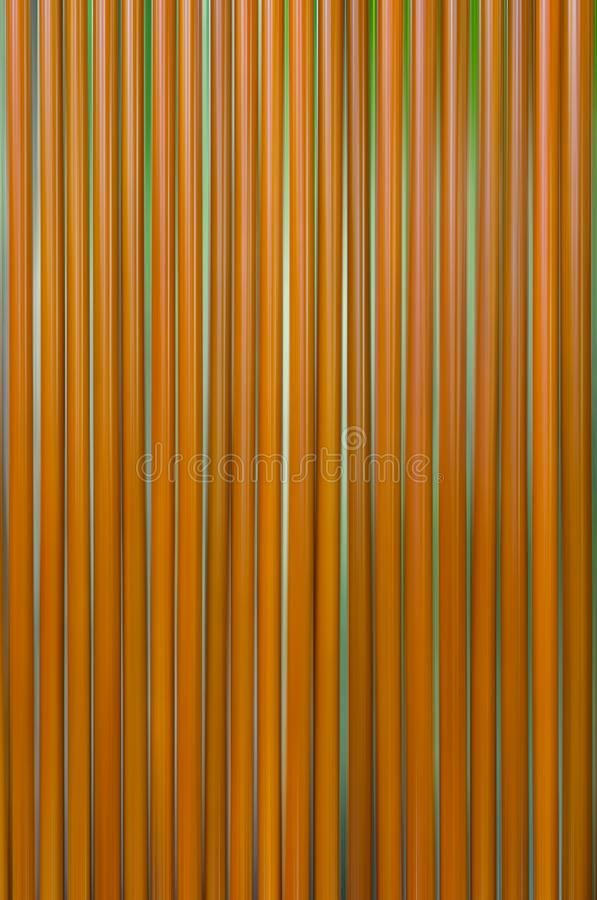 Many brown straws are rows. royalty free illustration