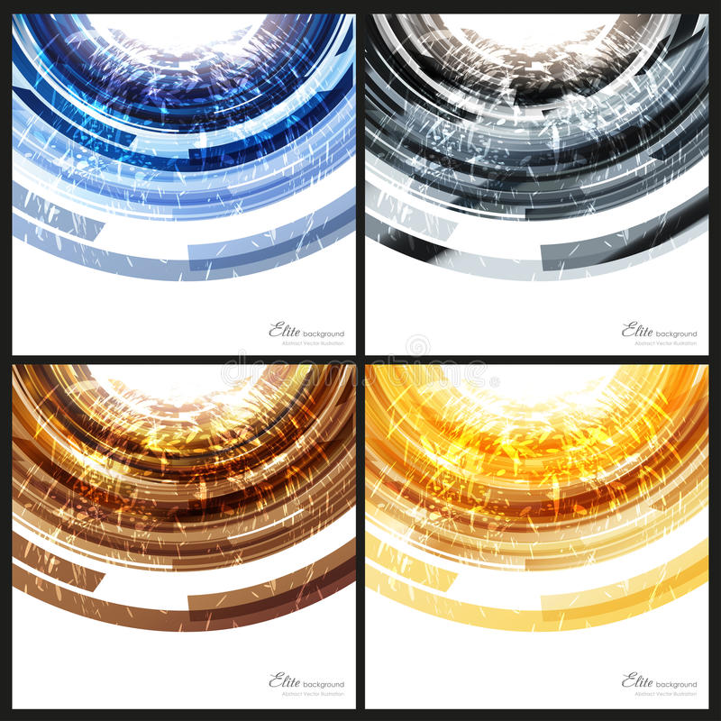 Abstract backgrounds templates royalty free illustration