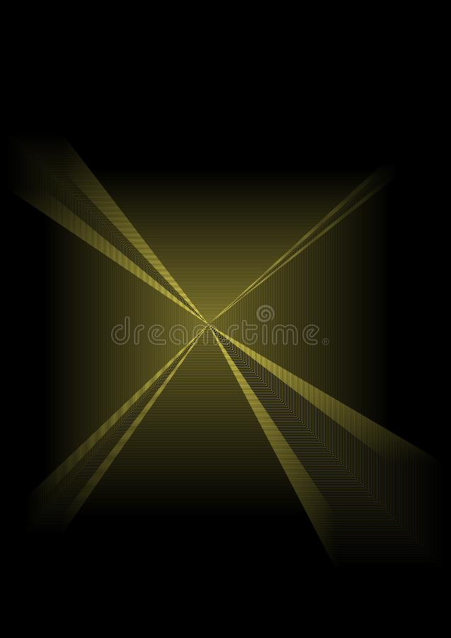 Abstract background with unique shapes royalty free illustration