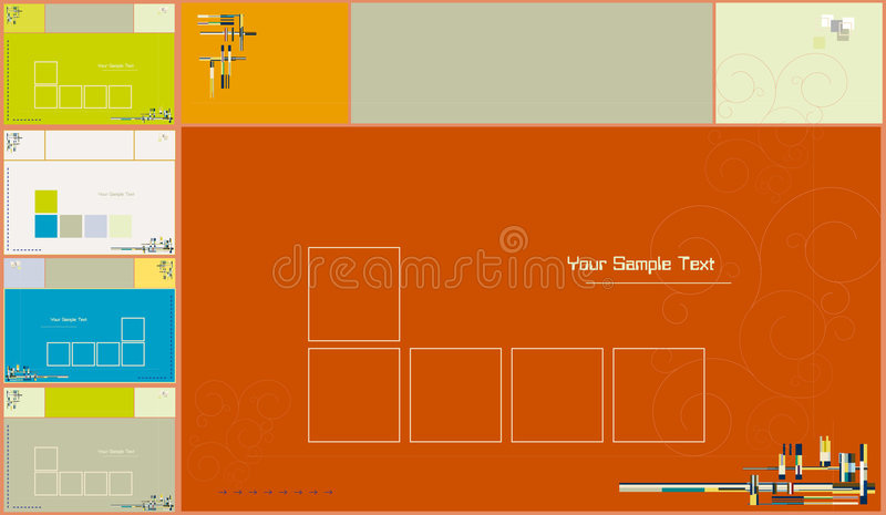 Abstract backgrounds- vector vector illustration