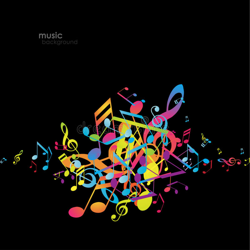 Free Abstract Backgrounds With Colorful Tunes. Stock Photography - 75849612