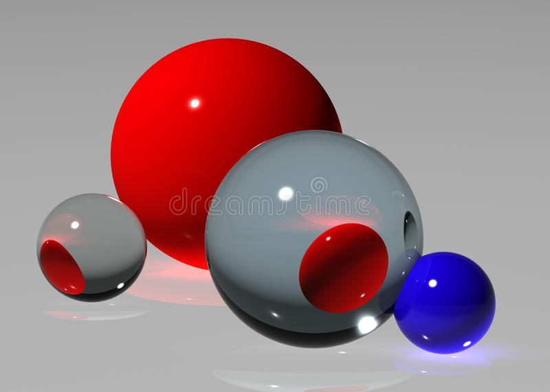 Abstract ball royalty free stock images
