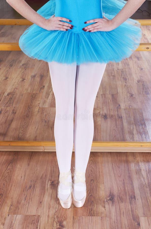 Abstract ballerinaconcept royalty-vrije stock afbeelding