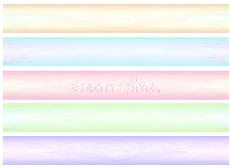 Abstract banner (02) stock illustration