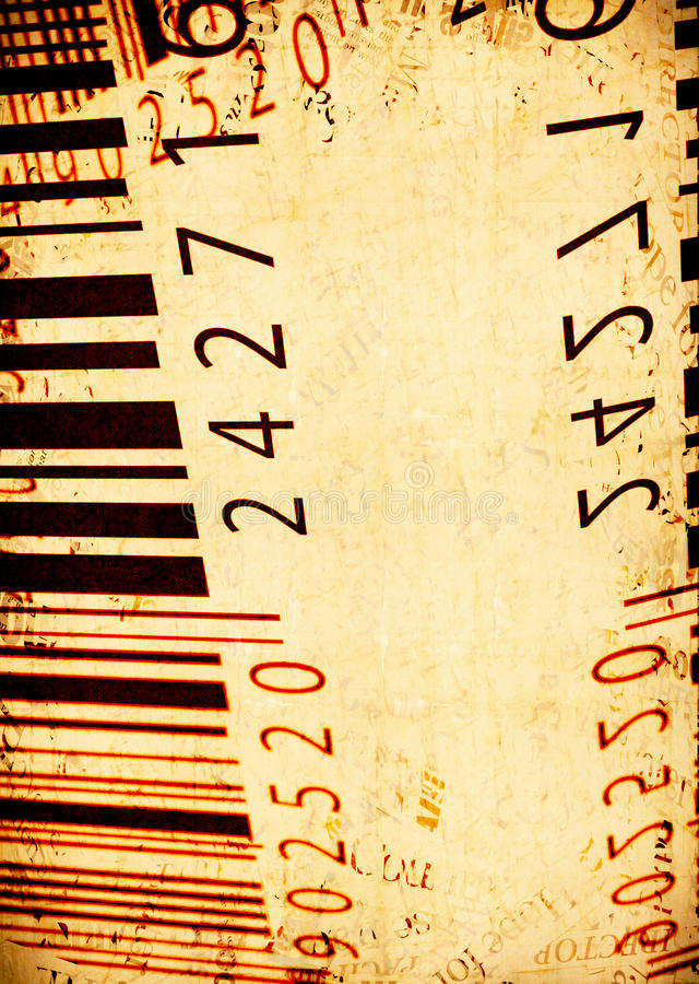 Free Abstract Bar Code Labels Stock Images - 9431554