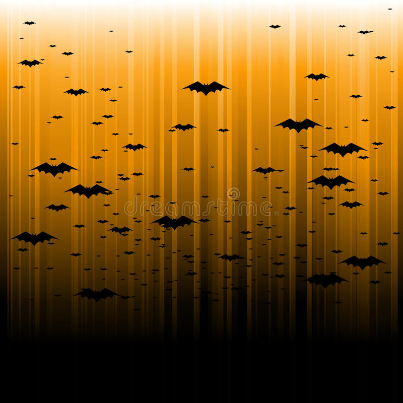 Free Abstract Bat Halloween Background Royalty Free Stock Images - 15851539