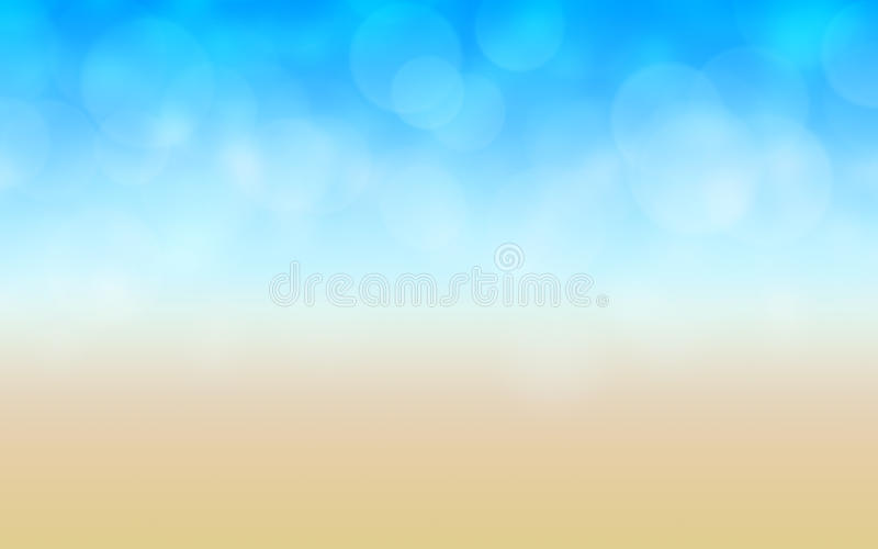 Abstract beach background vector illustration