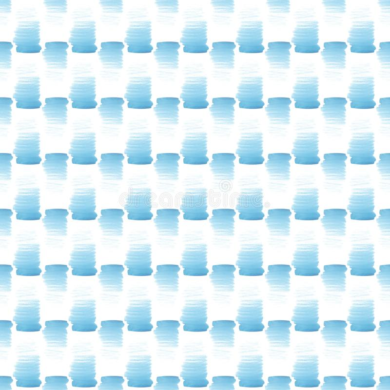 Abstract beautiful artistic tender wonderful transparent bright summer blue spots pattern watercolor hand illustration. Perfect for textile, wallpapers, and royalty free stock photos