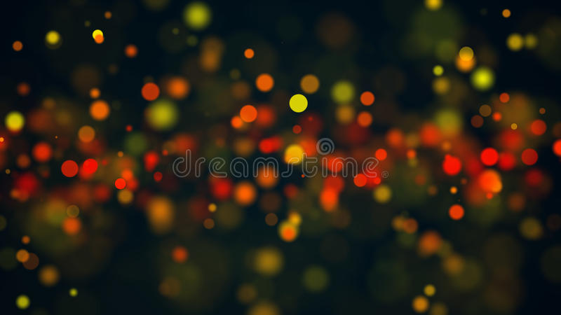 Abstract Beautiful bokeh background. Digital bacdrop royalty free stock image