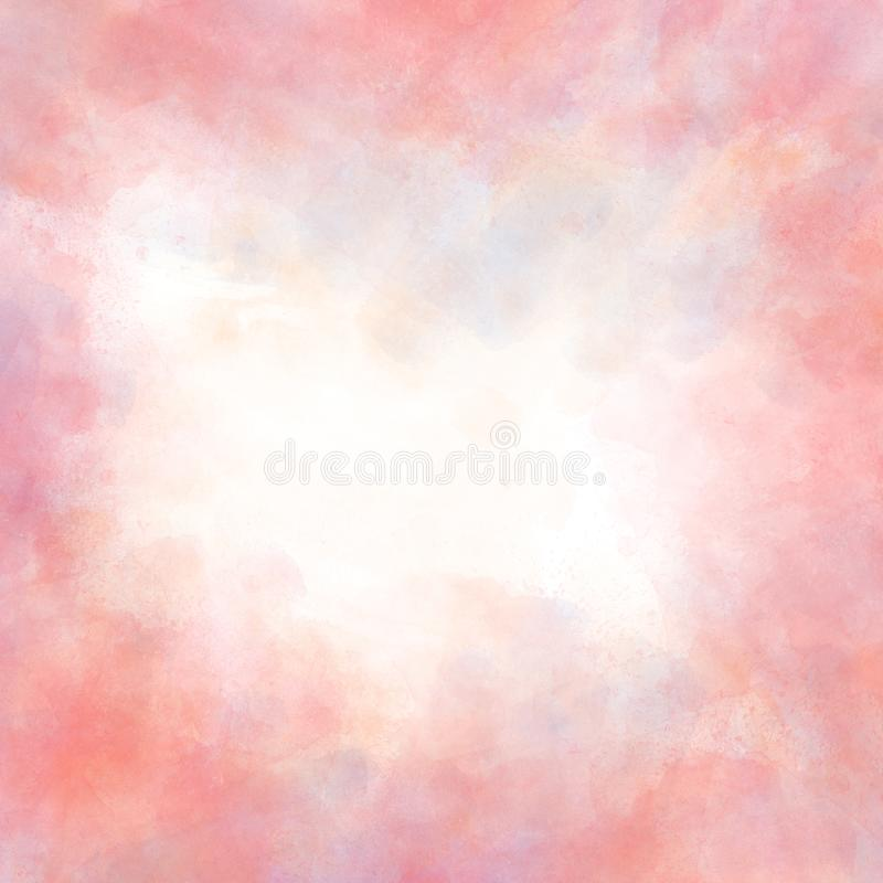 Abstract beautiful Colorful shape watercolor illustration painting background and texture backdrop. Abstract beautiful Colorful shape watercolor illustration stock photos