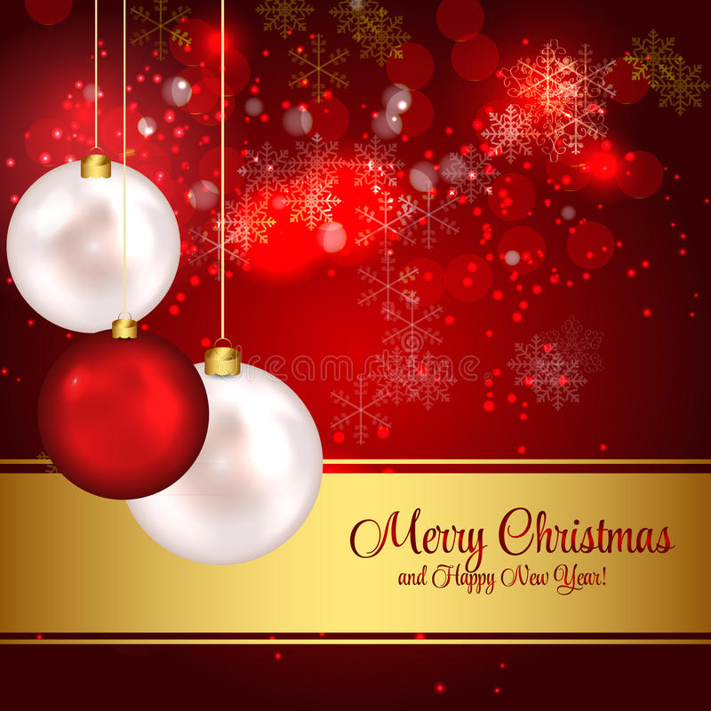 Download Abstract Beauty Christmas And New Year Background. Stock Illustration - Image: 34774405