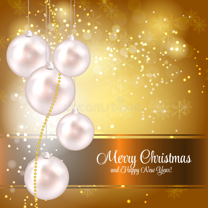 Download Abstract Beauty Christmas And New Year Background. Stock Illustration - Image: 34774626