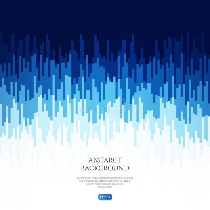Abstract beeld met geometrische patronen Verander het niveau van het geluidssignaal Correcte trillingen stock illustratie