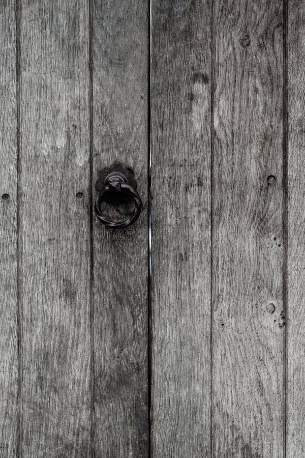 Abstract beeld van een klink op poort royalty-vrije stock foto's