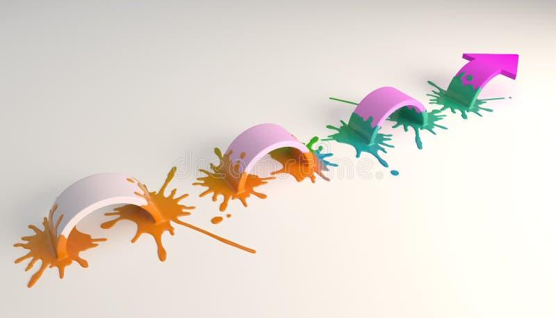 Abstract behang vector illustratie