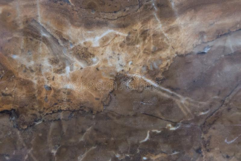 Abstract beige brown marble texture background. Natural stone pattern royalty free stock images