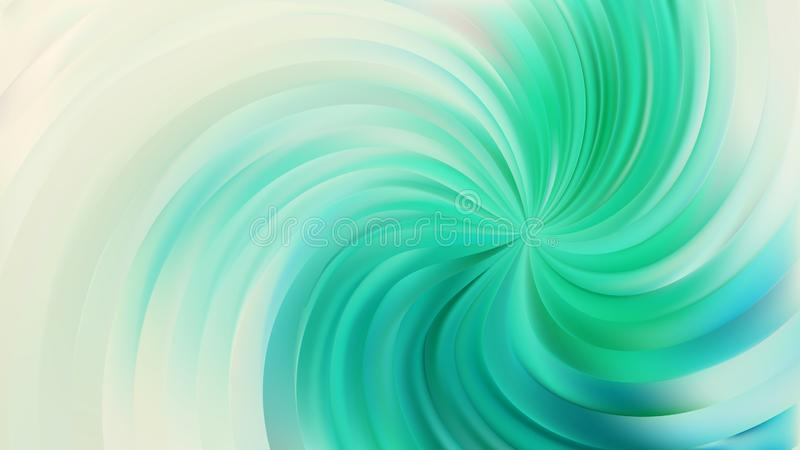 Abstract Beige and Turquoise Swirl Background 库存例证