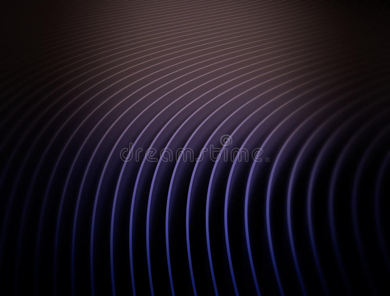 Abstract bend overlapping pieces of paper. Abstract bend overlapping pieces of purple paper vector illustration