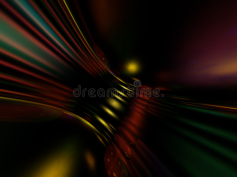 abstract bending colorful διανυσματική απεικόνιση