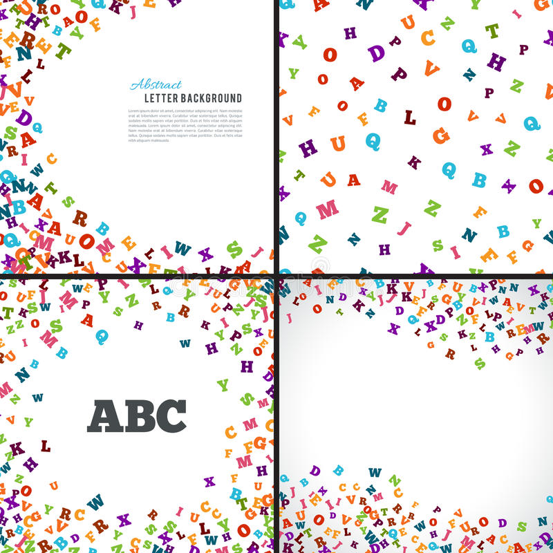 Free Abstract Black Alphabet Ornament Frame Isolated On White Background Royalty Free Stock Images - 71639209