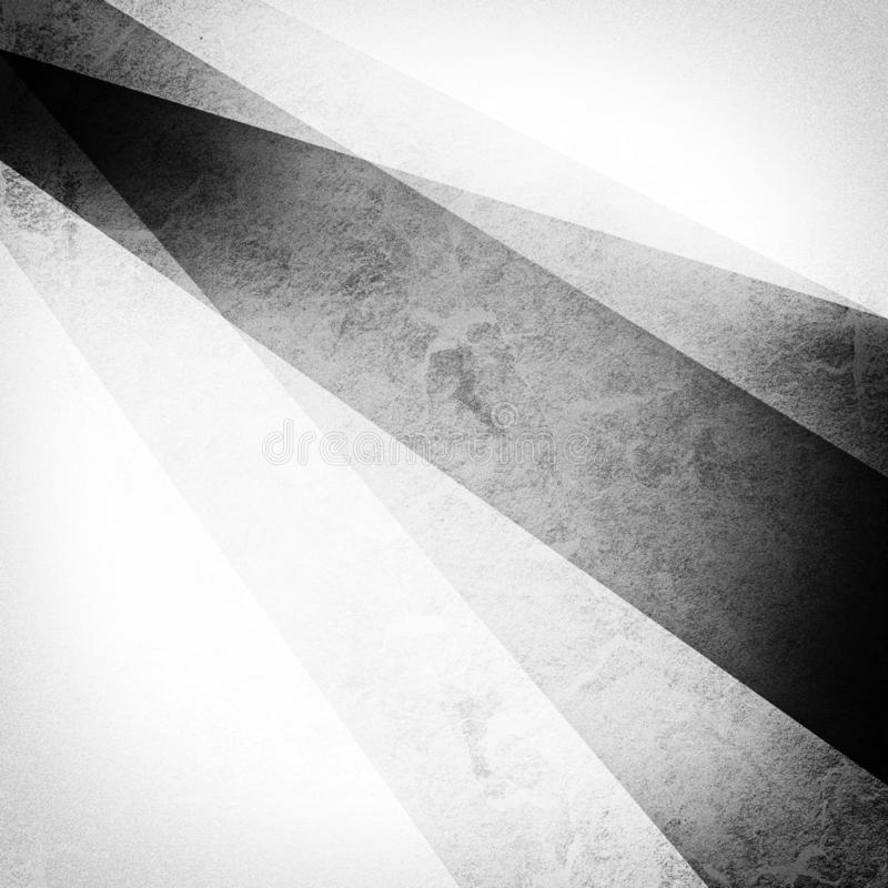 Free Abstract Black And White Background With Striped Angle Corner Design In Layers Royalty Free Stock Image - 156812366