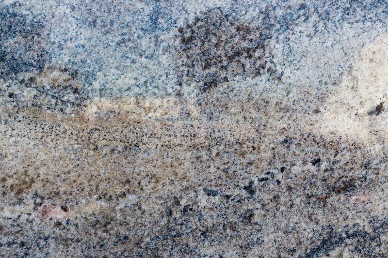 Warm Textured Blue and Black Granite royalty free stock photo