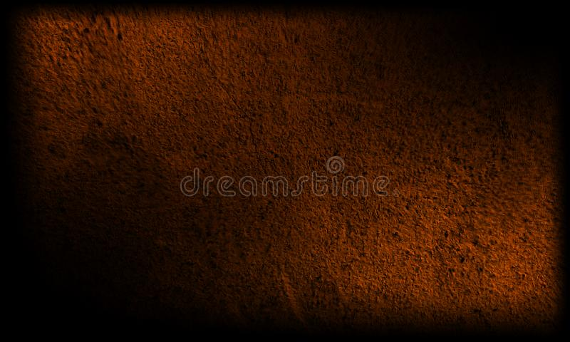 Abstract black and brown texture background royalty free illustration