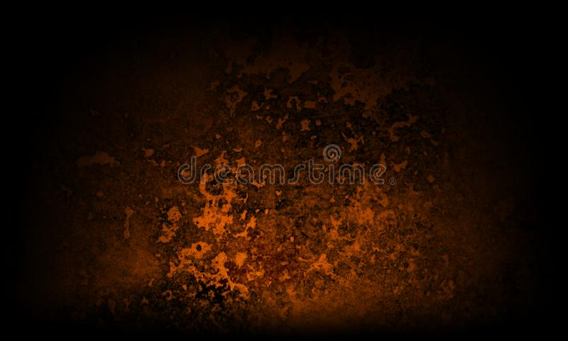 Abstract black and brown texture background stock illustration