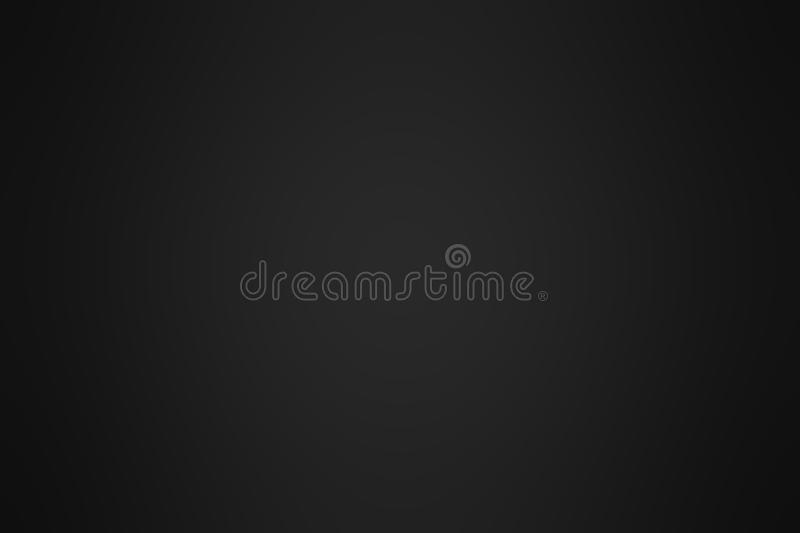 Abstract Black gradient background. Blurry dark grey backdrop. D stock images