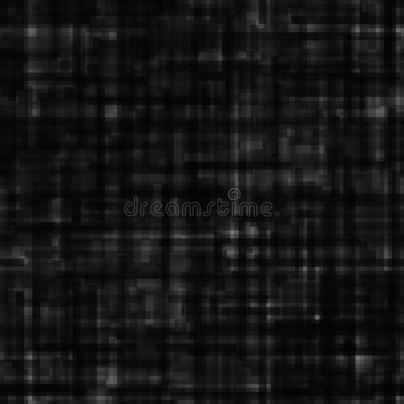 Abstract black grunge background. Digital texture in techno style. Seamless vector pattern. vector illustration