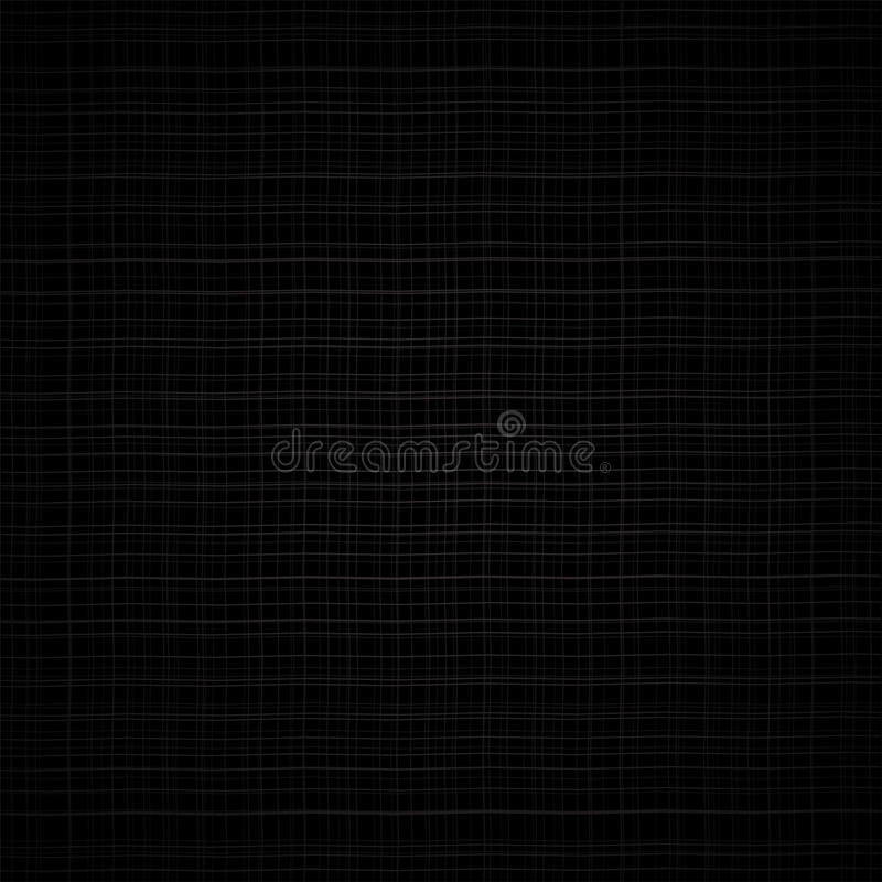 Abstract black grunge grid vector background. For your web design royalty free illustration