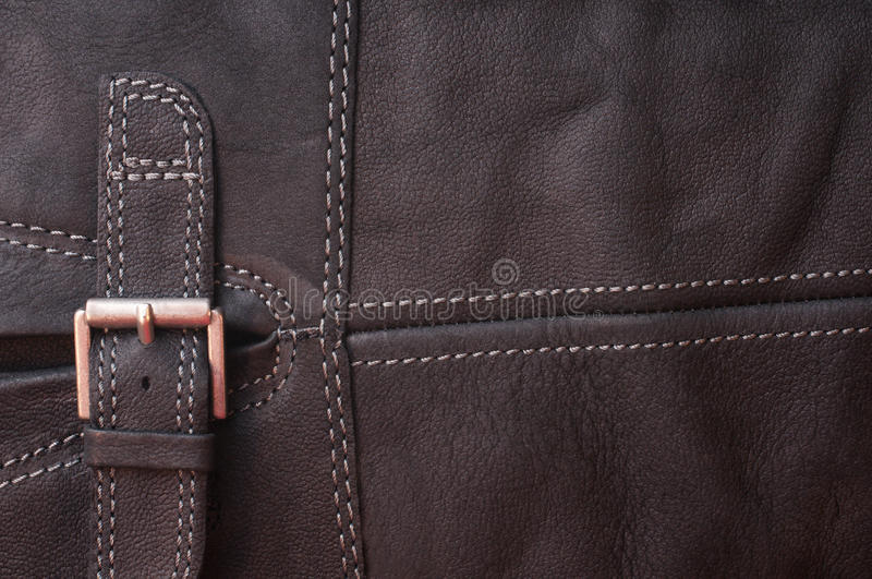 Abstract black leather background stock image