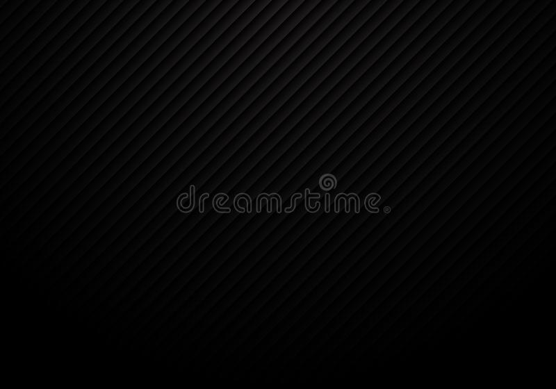 Abstract black lines pattern repeat striped background and texture luxury style stock illustration