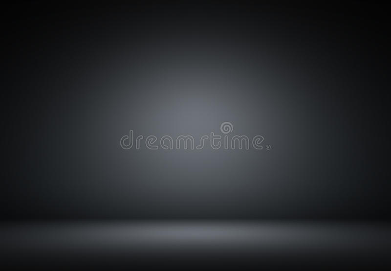 abstract black luxury background Studio backdrop - well use as b vector illustration