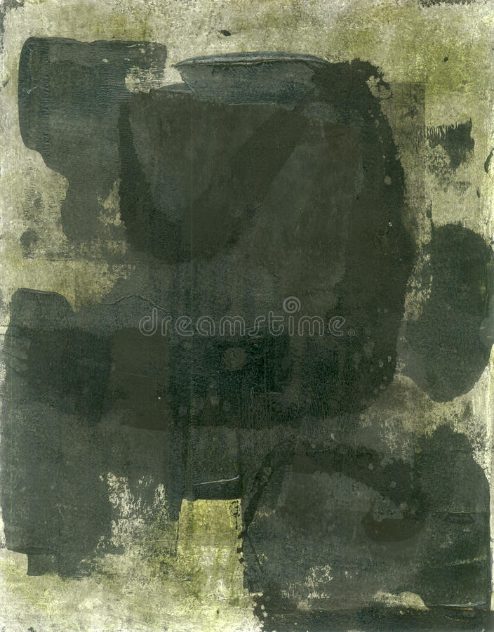 Download Abstract Black Painting stock illustration. Image of simple - 26148784