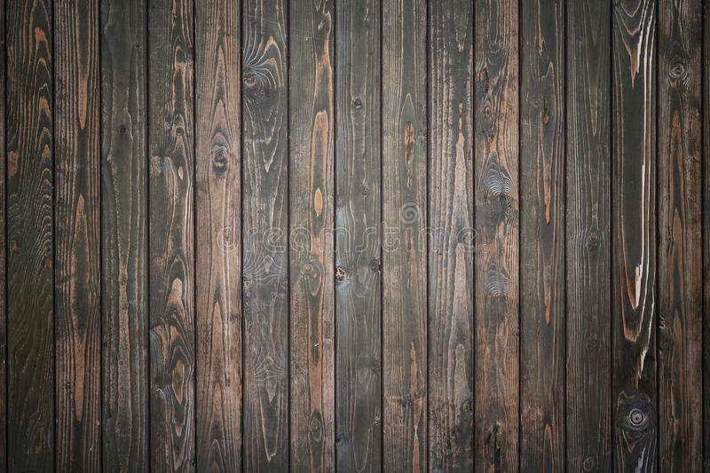 Black pine wood wall texture use for background. Abstract black pine wood wall texture use for background royalty free stock photos
