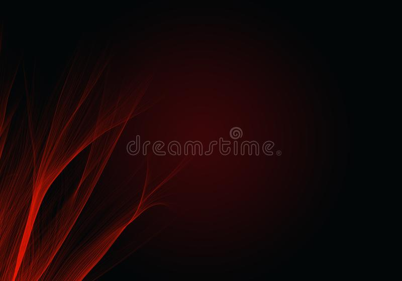 Abstract black and red background waves. Dark abstract background. Abstract black and red background waves. A dark abstract background stock photography