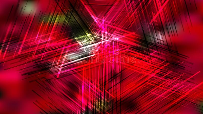Abstract Black Red and Green Overlapping Lines Background Design royalty free stock image
