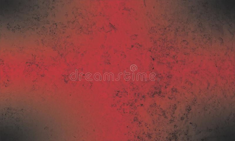 Abstract black and red texture background. Parchment, paint. vector illustration