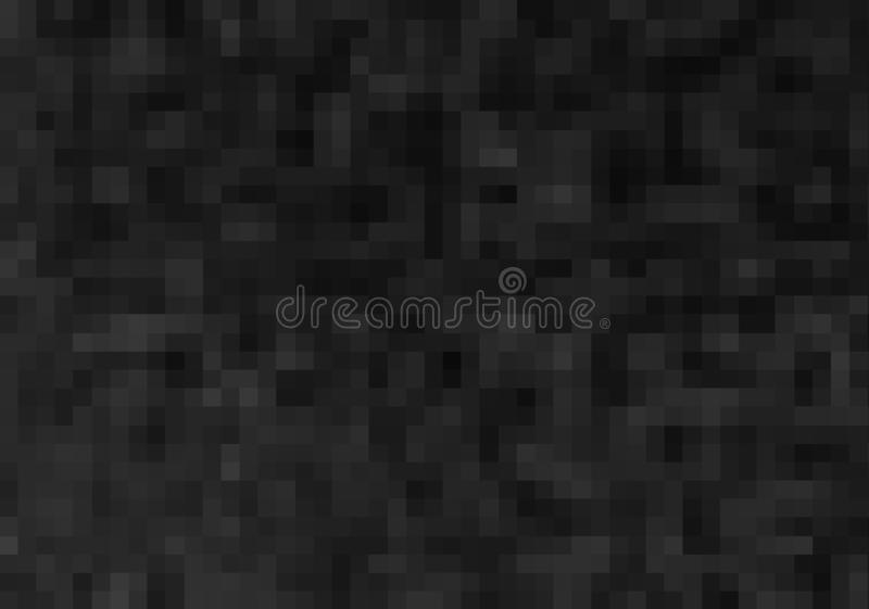 abstract black tiles background stock photo