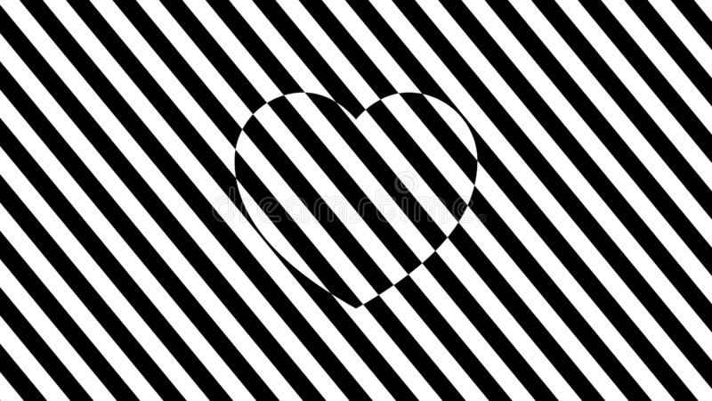 Abstract black and white background. royalty free illustration