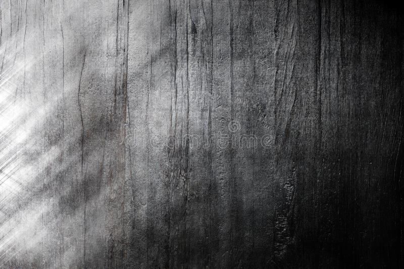 Wood Black White Background Abstract. A black and white abstract background with some wood and metallic areas royalty free stock photo
