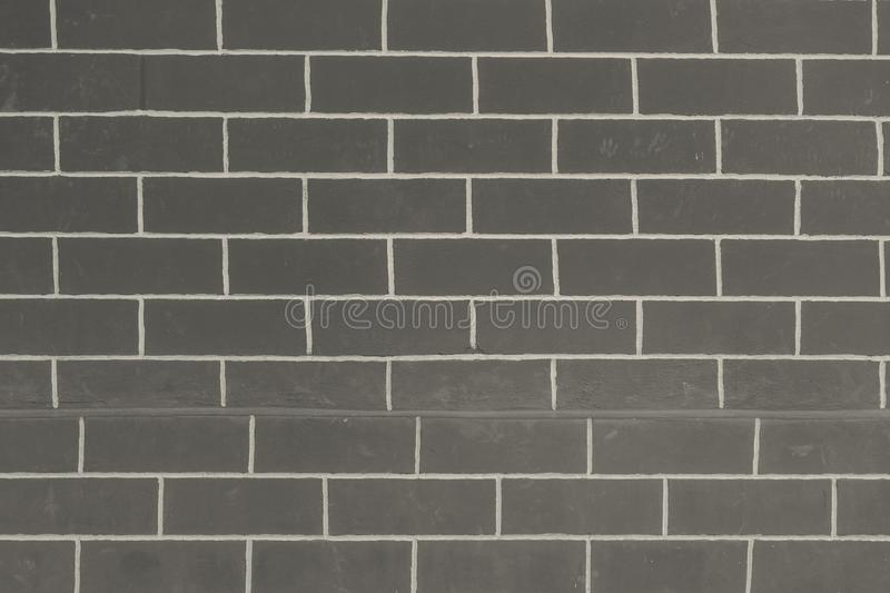 Abstract Black and white brick Wall Pattern , used for background website or add text in advertise. stock photo