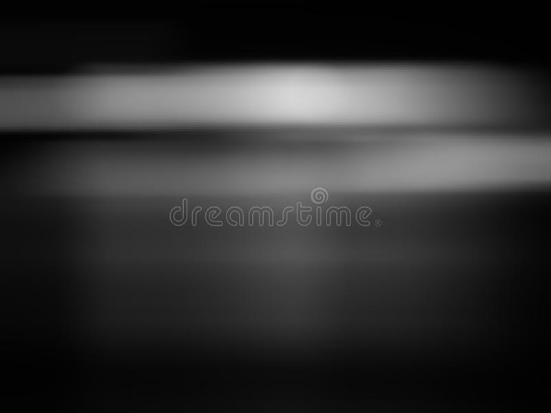 Abstract black and white gradient background stock images