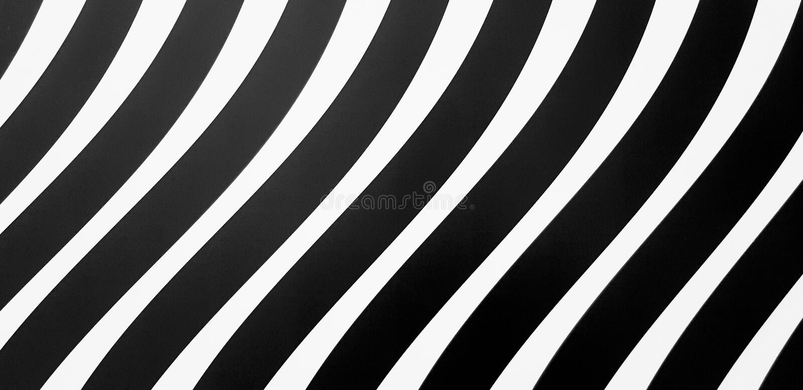 Abstract black and white line pattern background. Seamless art wallpaper concept royalty free stock image