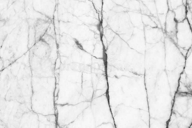 Abstract black and white marble patterned (natural patterns) texture background. stock image